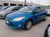 2012 Blue Candy Metallic Ford Focus SE 5-Door #67429526
