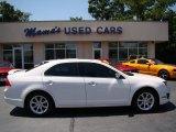 2011 White Platinum Tri-Coat Ford Fusion SEL V6 #67429872
