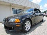 2001 Jet Black BMW 3 Series 325i Convertible #67430201