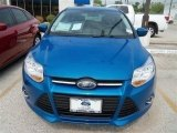 2012 Blue Candy Metallic Ford Focus SE 5-Door #67429501