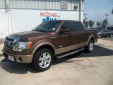 2012 Golden Bronze Metallic Ford F150 Lariat SuperCrew 4x4 #67429480