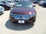 2012 Bordeaux Reserve Metallic Ford Fusion SE #67429474