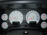 2003 Dodge Ram 1500 SLT Quad Cab 4x4 Gauges