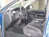 2003 Dodge Ram 1500 SLT Quad Cab 4x4 Dark Slate Gray Interior