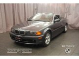 2002 Steel Grey Metallic BMW 3 Series 325i Convertible #6735210