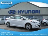 2013 Monaco White Hyundai Elantra Coupe GS #67429678