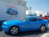 2013 Grabber Blue Ford Mustang GT Premium Coupe #67429659