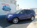 2013 Deep Impact Blue Metallic Ford Explorer Limited #67429654