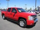 2009 Victory Red Chevrolet Silverado 1500 LT Crew Cab 4x4 #67430001