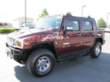 2006 Hummer H2 Twilight Maroon Metallic