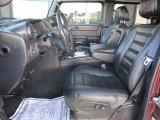 2006 Hummer H2 SUT Ebony Interior