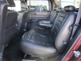 2006 Hummer H2 SUT Rear Seat