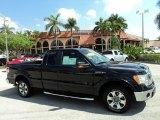 2010 Tuxedo Black Ford F150 Lariat SuperCab #67493783