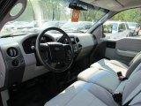 2005 Ford F150 XL SuperCab 4x4 Medium Flint Grey Interior