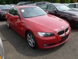 2007 Crimson Red BMW 3 Series 328xi Coupe #67494598