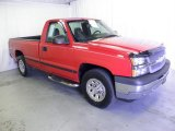 2005 Victory Red Chevrolet Silverado 1500 Regular Cab 4x4 #67494179