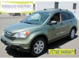 2009 Green Tea Metallic Honda CR-V EX 4WD #67493755