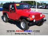 2006 Flame Red Jeep Wrangler Unlimited 4x4 #67494161