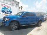 2012 Blue Flame Metallic Ford F150 FX4 SuperCrew 4x4 #67493723