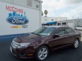 2012 Bordeaux Reserve Metallic Ford Fusion SE #67493719