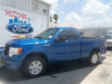 2012 Blue Flame Metallic Ford F150 STX Regular Cab #67493714