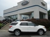 2013 Oxford White Ford Explorer XLT 4WD #67493657
