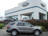 2013 Sterling Gray Metallic Ford Explorer XLT 4WD #67493656