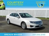 2011 White Suede Ford Fusion SEL #67494476
