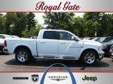 2012 Bright White Dodge Ram 1500 Laramie Crew Cab 4x4 #67493644