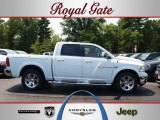 2012 Bright White Dodge Ram 1500 Laramie Crew Cab 4x4 #67494466