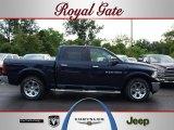 2012 True Blue Pearl Dodge Ram 1500 Laramie Crew Cab 4x4 #67494465