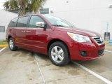 2012 Deep Claret Red Metallic Volkswagen Routan SEL Premium #67494458