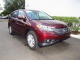 2012 Basque Red Pearl II Honda CR-V EX #67493601
