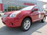 2012 Cayenne Red Nissan Rogue SV #67494030