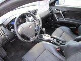 2008 Hyundai Tiburon GT GT Black Leather/Black Sport Grip Interior