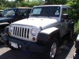 2012 Bright Silver Metallic Jeep Wrangler Sport S 4x4 #67493562