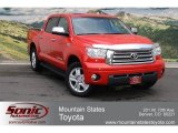 2008 Radiant Red Toyota Tundra Limited CrewMax 4x4 #67493498