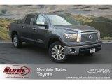 2012 Magnetic Gray Metallic Toyota Tundra Platinum CrewMax 4x4 #67493493