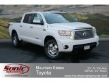 2012 Super White Toyota Tundra Limited CrewMax 4x4 #67493488