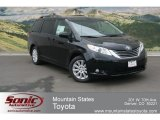 2012 Black Toyota Sienna XLE AWD #67493469