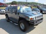 2007 Hummer H2 Slate Blue Metallic