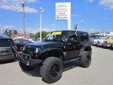2010 Black Jeep Wrangler Sahara 4x4 #67493936