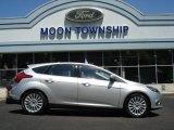 2012 Ingot Silver Metallic Ford Focus Titanium 5-Door #67493876