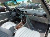 1987 Mercedes-Benz SL Class Interiors