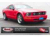 2006 Torch Red Ford Mustang V6 Premium Coupe #67493843