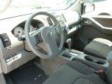 2012 Nissan Frontier SV Crew Cab 4x4 SV Sport Graphite Interior