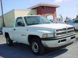 2001 Bright White Dodge Ram 1500 Regular Cab #6745712