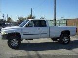 2001 Bright White Dodge Ram 2500 SLT Quad Cab 4x4 #6569670