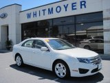 2010 White Suede Ford Fusion SE V6 #67494211