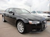 2013 Brilliant Black Audi A4 2.0T Sedan #67566326